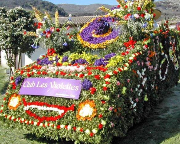Fête des Violettes, Tourrettes sur Loup