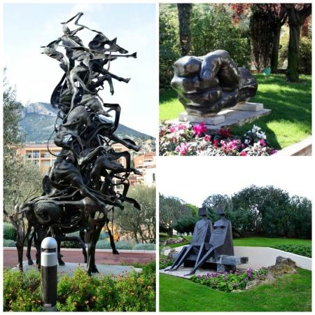 Chemin des Sculptures, Monaco